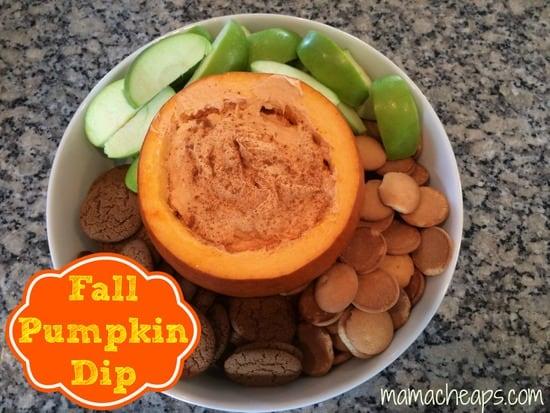 fall pumpkin dip title