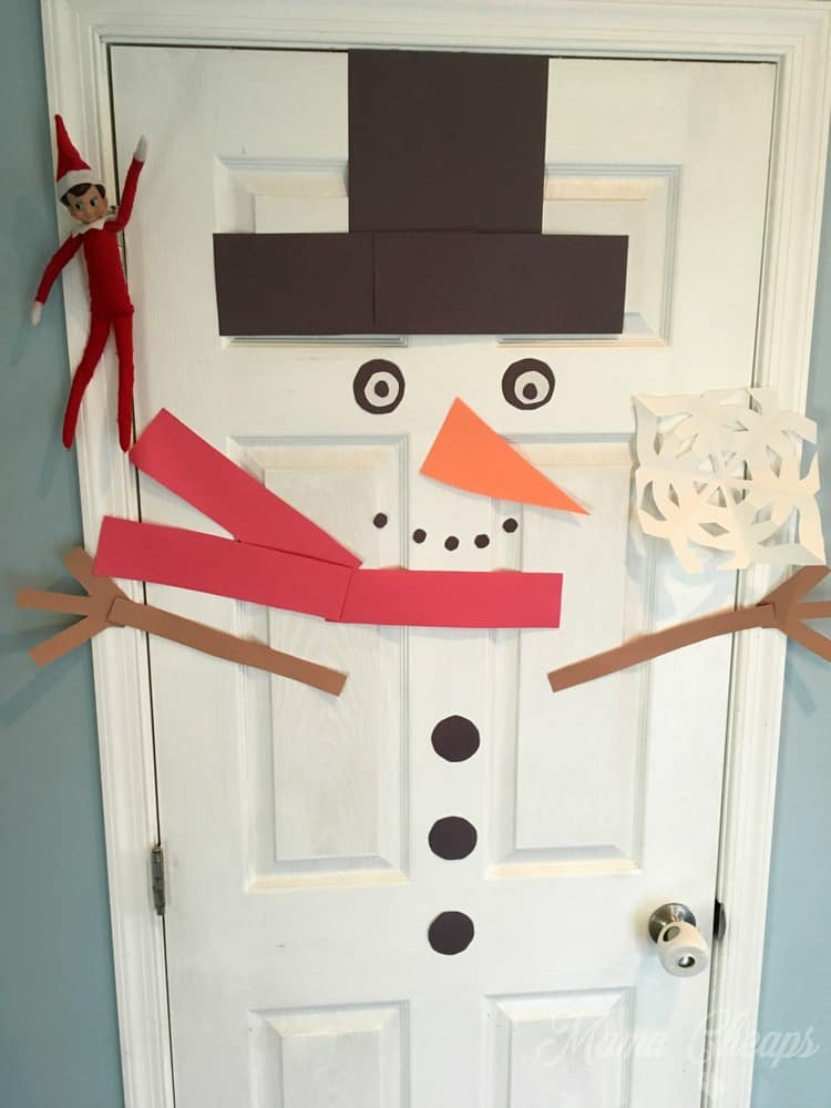 The best collection of elf on the shelf ideas mama cheaps for Elf door and elf