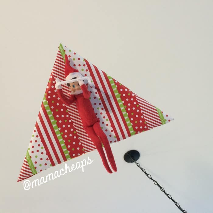 Elf on Hang Glider