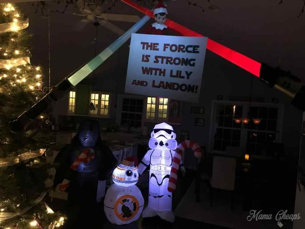 Star Wars Elf on SHelf
