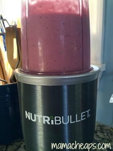 freezer smoothie nutribullet