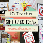 teacher gift cards