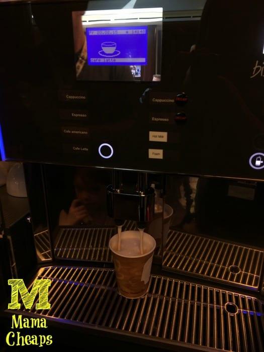 disney dream concierge lounge coffee