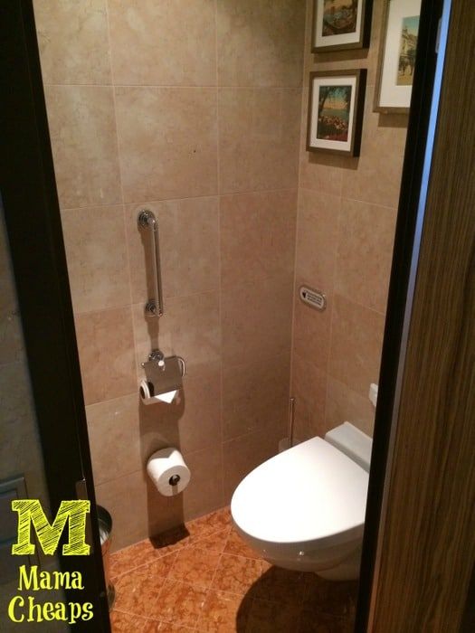 disney dream suite bathroom toilet