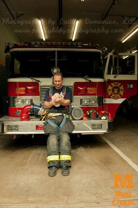 fire truck newborn landon