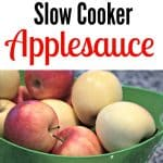 Slow Cooker Applesauce Recipe