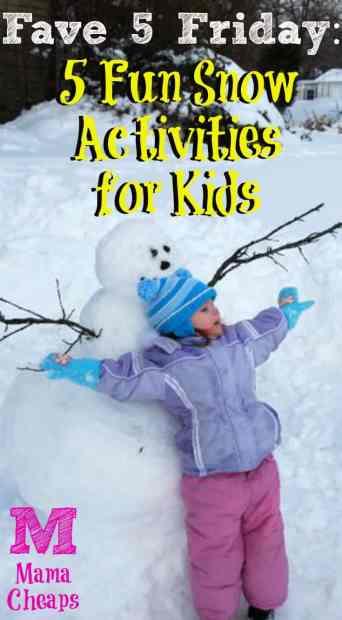 Fun Snow Activities for Kids