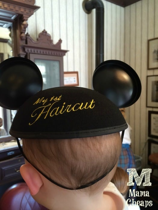 My 1st Haircut Mickey Mouse Ears