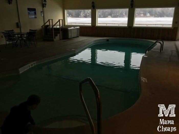 Lake Morey Resort Pool with Lake View