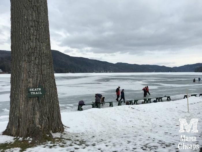Lake Morey Skate Trail