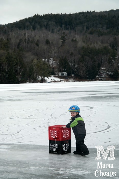 Winter fun at lake morey resort in vermont a detailed for Vt fish and game license