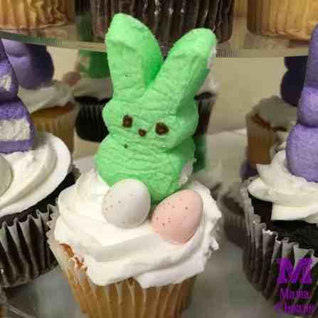 Bunny Peeps Cupcake