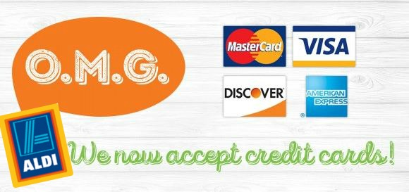 ALDI Stores Now Accept CREDIT CARDS + $50 ALDI Gift Card Giveaway ...