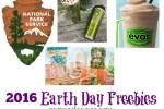2016 Earth Day Freebies