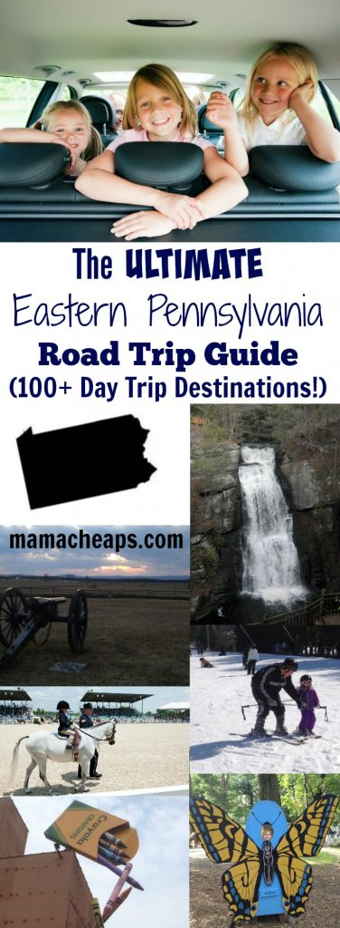 The ULTIMATE Eastern Pennsylvania Road Trip Guide (100+ Day Trip Destinations!)