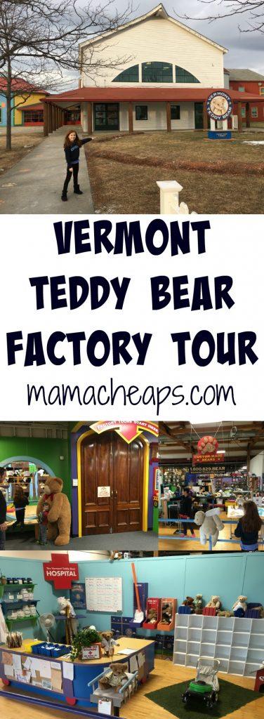 Vermont Teddy Bear Factory Tour