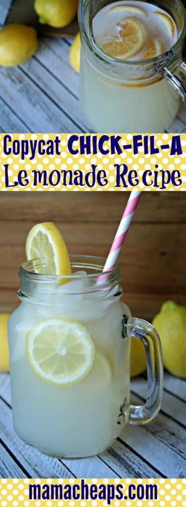how to make frozen lemonade like chick fil a