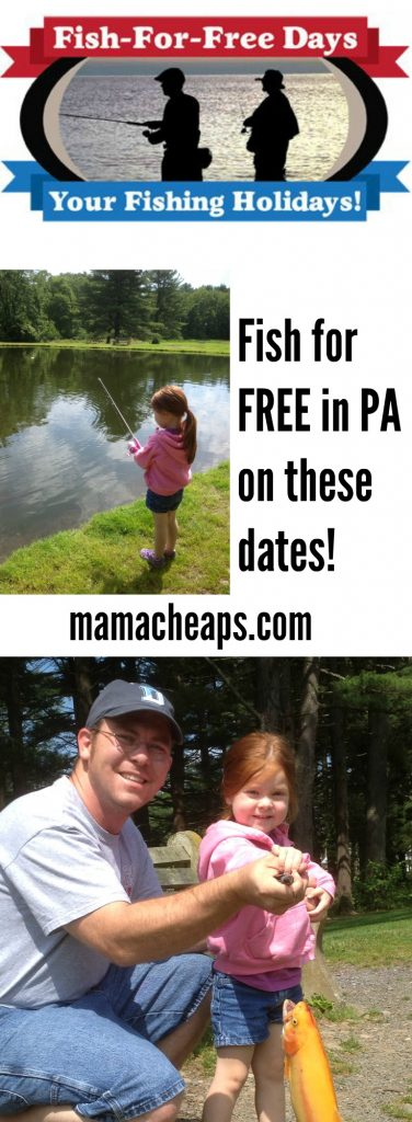 PA Fish for Free Dates