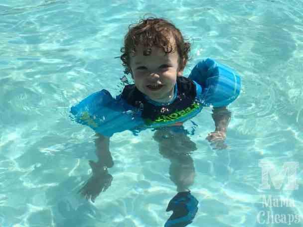 Landon Puddle Jumper in Pool