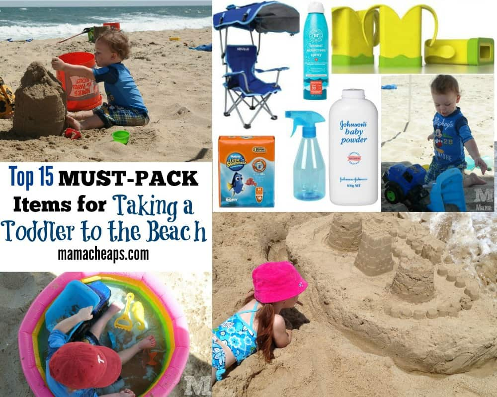 Top 15 MUST-PACK Items For Taking A Toddler To The Beach