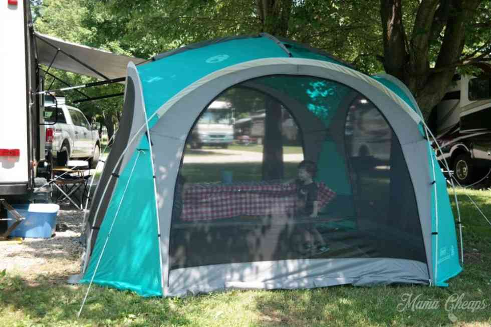Coleman Pop Up Shelter : Coleman mountain view screendome shelter review