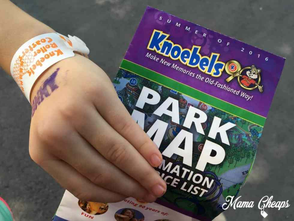 Knoebels Park Map