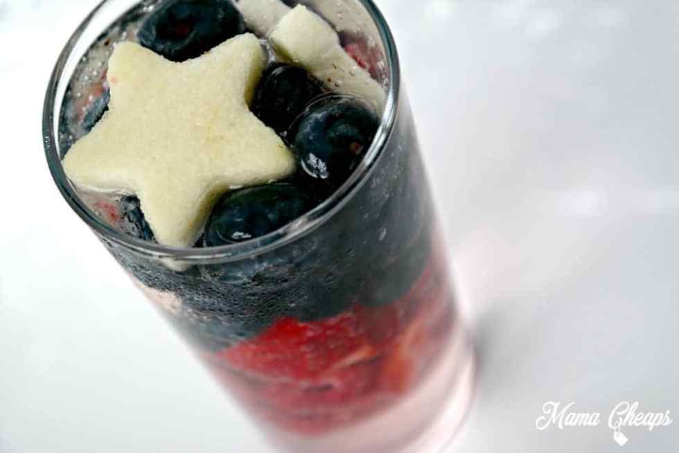 Patriotic Sparkling Drink