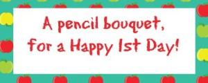 Pencil Bouquet Tag