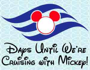 Disney Cruise Vacation Free Printable