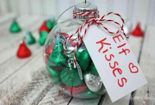 Hersheys Kisses Christmas Ornament
