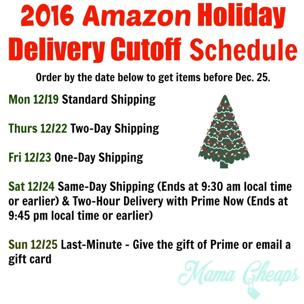 Amazon's same-day delivery service, Prime Now, allows procrastinators to order gift deliveries as late as Christmas Eve and have them under the tree in the morning.
