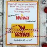 Free Printable Wawa Gift Card Holder