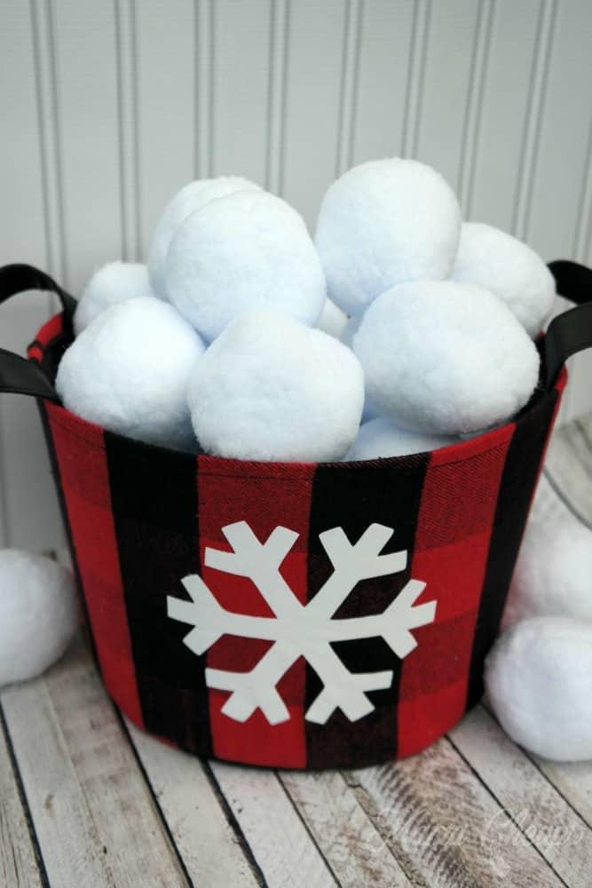 Indoor Snowball Fight