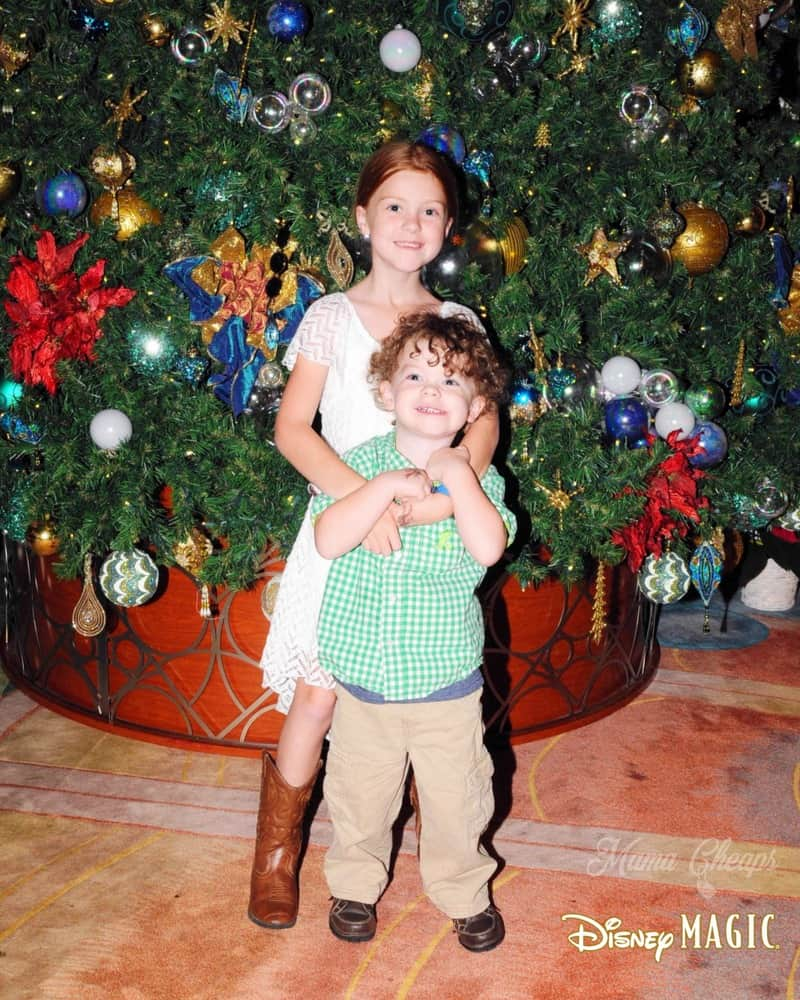 Christmas Tree Disney Magic