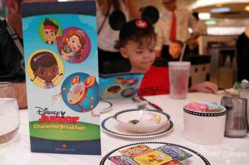 Disney Junior Breakfast Cruise