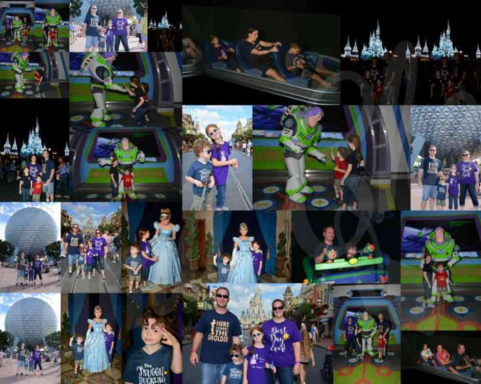 Disney World Memory Maker Pictures