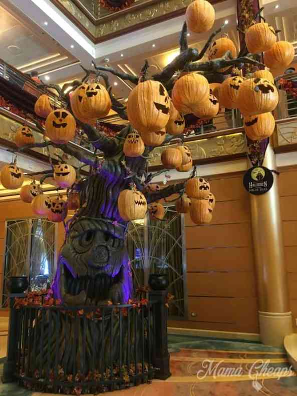 Pumpkin Tree Disney Cruise