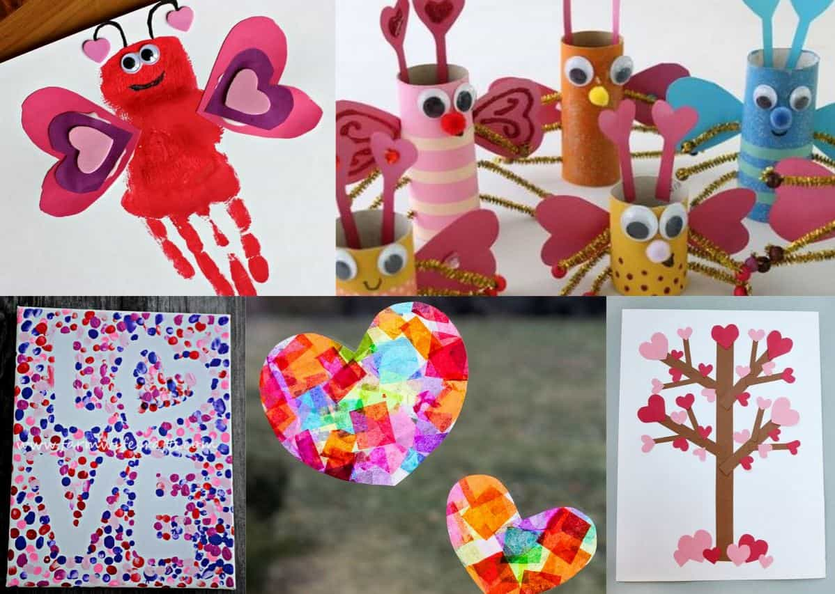 24 Adorable Valentine S Day Craft Ideas For Preschoolers