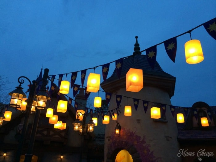Disney World Tangled Lanterns