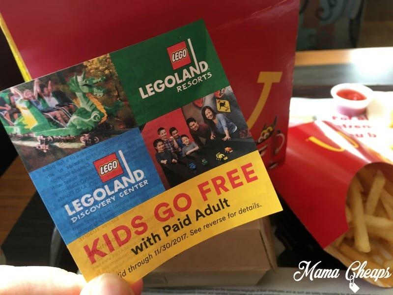 Legoland discounts coupons