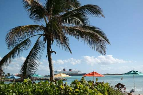 Beach on Castaway Cay
