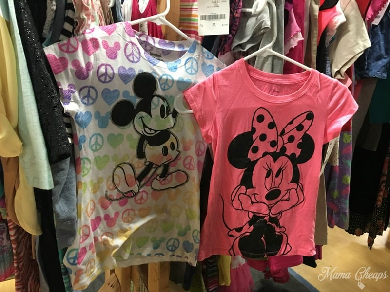 Disney Shirts at JBF