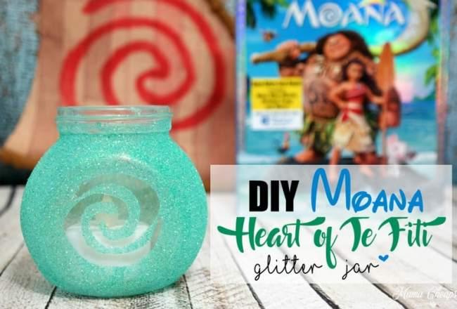 Moana Heart of Te Fiti Craft