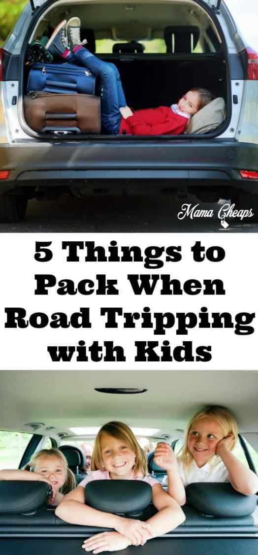 What to Pack When Road Tripping with Kids