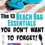 Beach Bag Essentials List
