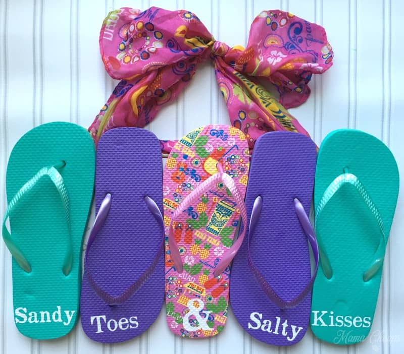 Flip Flop Wall Hanging