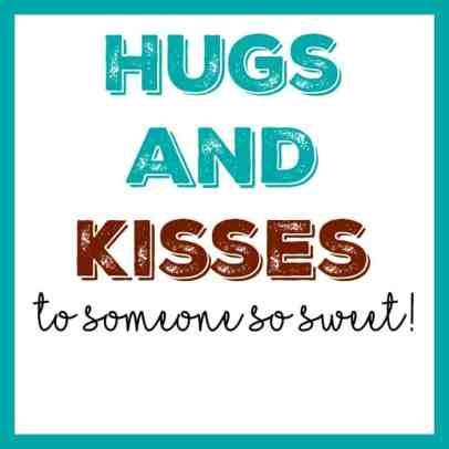 Hugs and Kisses Tag