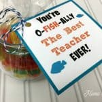 Swedish Fish Teacher Gift Tag