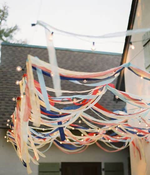 4th of july streamers