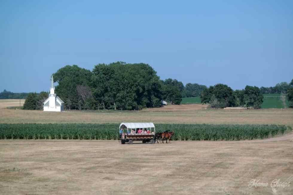Covered Wagon Ingalls Homestead